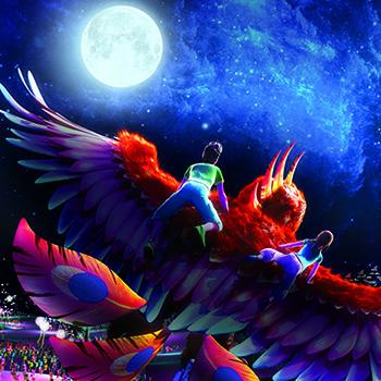 新加坡聖淘沙Wings of time燈光水舞秀門票(指定場次)