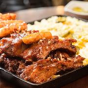 韓國首爾弘大木盆芝士排骨美食券