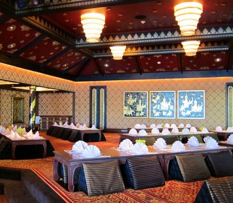 泰國曼谷文華東方酒店Sala Rim Naam經典泰式餐廳