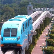 新加坡聖淘沙捷運車票