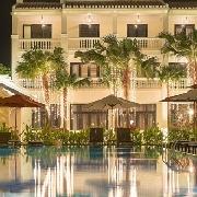 越南會安市區酒店-用餐點接送車