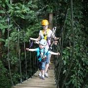 清邁Flight of the Gibbon叢林飛躍+大象保護營一日遊
