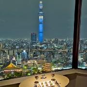 東京淺草豪景酒店武藏Sky Grill自助晚餐預約