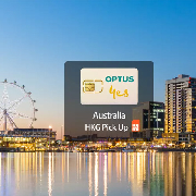 澳洲10日3G無限流量上網卡(香港機場領取)