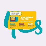 澳洲Optus 4g上網電話卡(10GB流量)