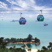 新加坡雙程纜車門票(聖淘沙線+花柏山線)