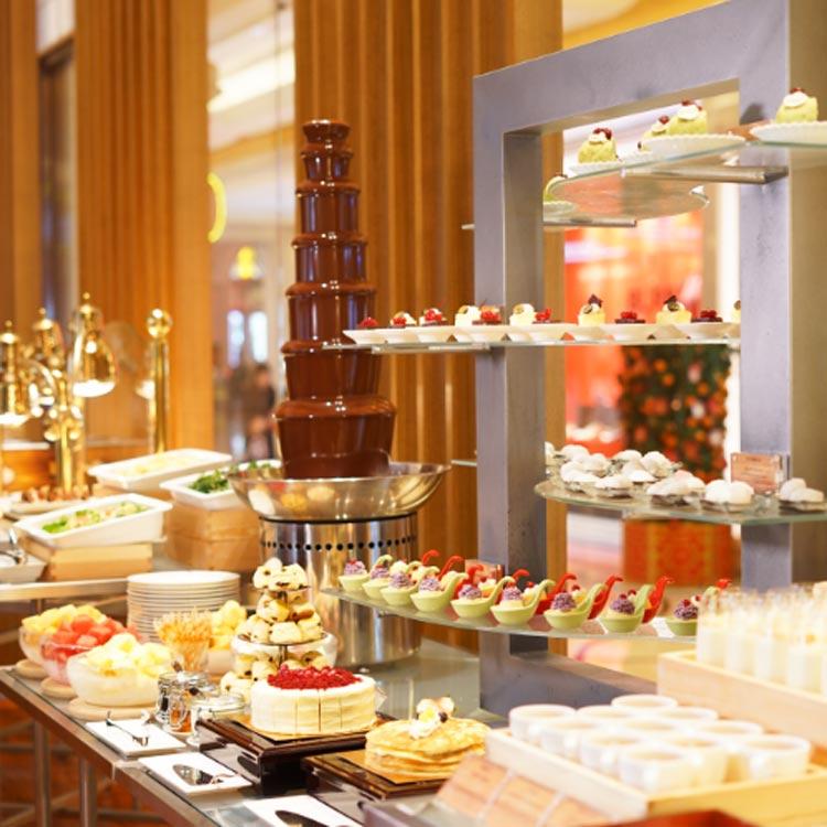 澳門大倉酒店「奈和美」大堂週末下午茶自助