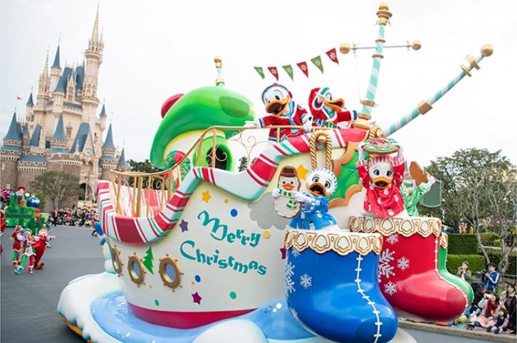 2019日本東京迪士尼聖誕節11月