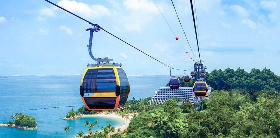 富國島香島超長跨海纜車往返票