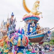 日本東京迪士尼一日門票+單程巴士票(池袋出發)
