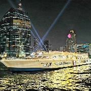 曼谷奧朗卡號國際海鮮自助晚餐+夜遊湄南河(Alangka Cruise)
