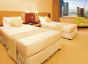 澳門帝濠酒店+金光飛航 香港往返澳門船票套票