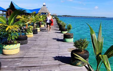 沙巴美人魚島一日遊