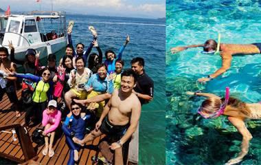 沙巴美人魚島浮潛二日遊